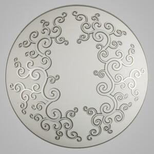 Настенно-потолочный светильник Nowodvorski 3704 arabeska silver