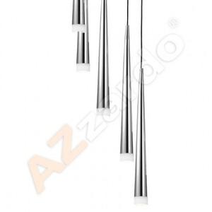 Подвесной светильник Azzardo md 1220a-5-chrome Stylo