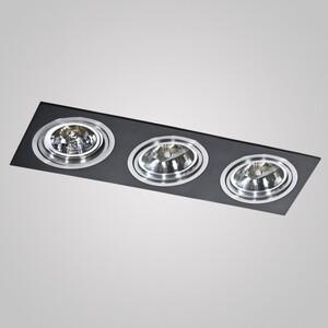 Встраиваемый светильник Azzardo gm2300_bk_alu Siro