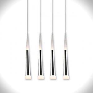 Подвесной светильник Azzardo lp9003-4-chrome Brina