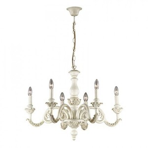 Люстра Ideal Lux GIGLIO SP6 BIANCO 88570