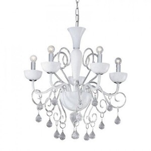 Люстра Ideal Lux LILLY SP5 BIANCO 22789