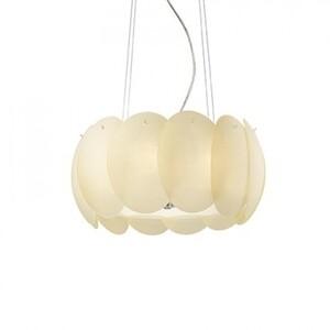 Подвесной светильник Ideal Lux OVALINO SP5 AMBRA 89096