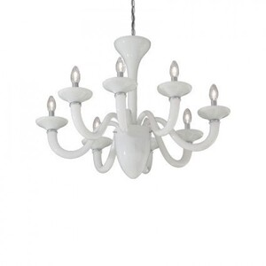 Люстра Ideal Lux WHITE LADY SP8 BIANCO 19390