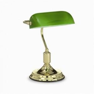 Настольная лампа Ideal Lux LAWYER TL1 OTTONE 13657