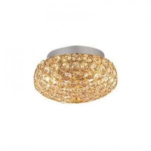 Потолочный светильник Ideal Lux KING PL3 ORO 75402