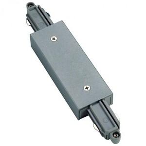 Коннектор прямой с подводом питания для однофазных трековых систем SLV 143102