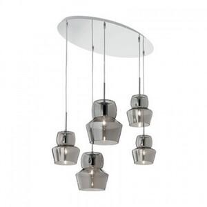 Светильник подвесной Ideal Lux ZENO SP5 GRIGIO 099590