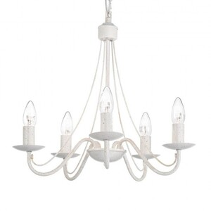 Люстра Ideal Lux EMILY SP5 BIANCO ANTICO 017921