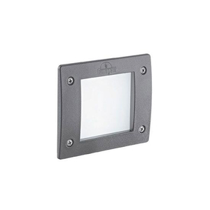 Светильник уличный Ideal Lux LETI SQUARE FI1 GRIGIO 096599